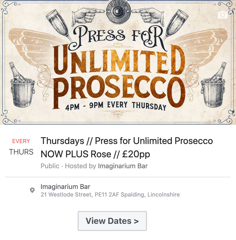 View Press for Prosecoo Dates
